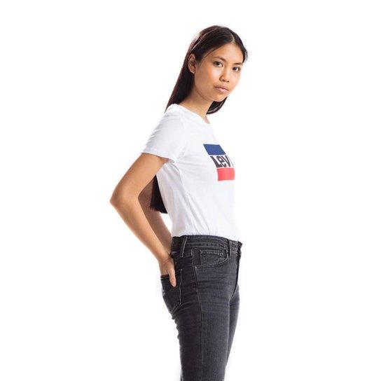 Camiseta Sportswear Logo Levis - Branco - Compre Agora  9e2e42e51dc