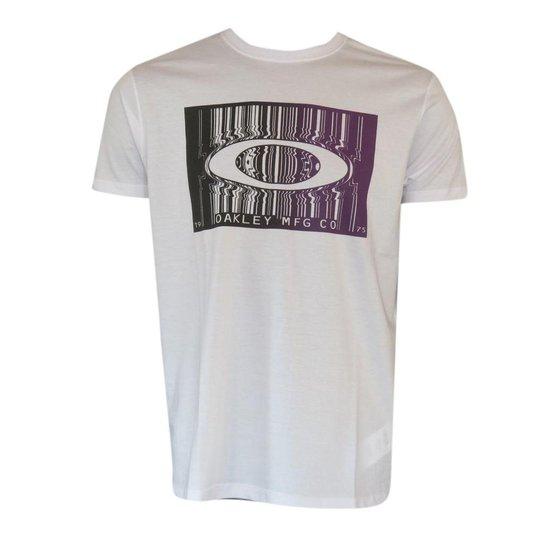 8ebc0ab35 Camiseta Bar Code Tee White Oakley - Compre Agora