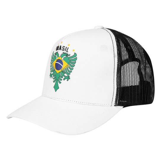 b0cf500c23bbc Boné Cavalera Aba Curva Brasil Masculino - Compre Agora