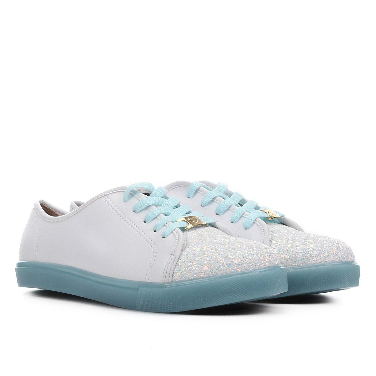 Sapato Infantil Molekinha Glitter Feminino