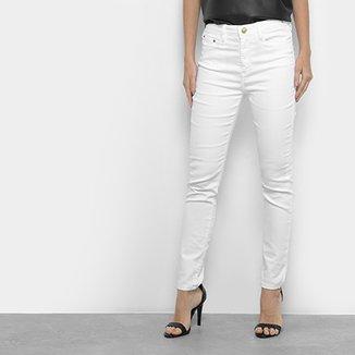 1510c8c91 Calça Skinny Carmim Cintura Alta Feminina