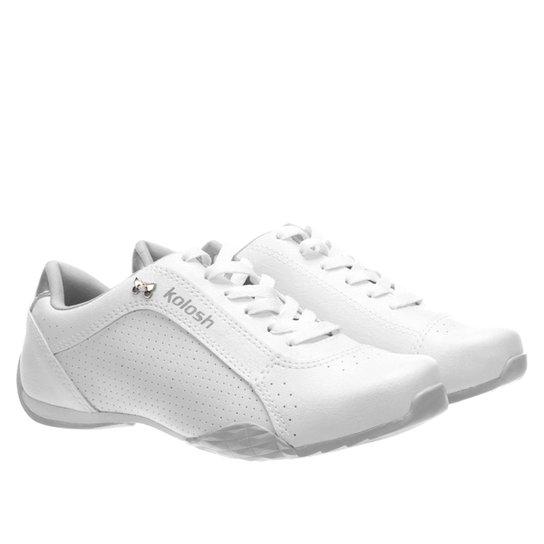 1de38d9b9f Tênis Kolosh Perfuros Feminino - Branco - Compre Agora