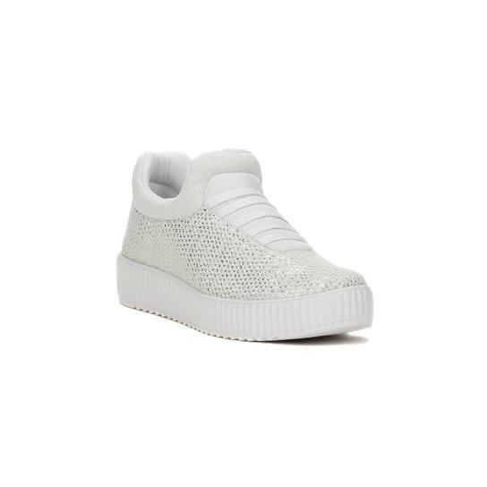 Tênis Casual Feminino Kolosh Branco - Branco - Compre Agora  e6e27247e28e3