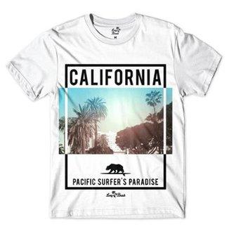 81985739824d2 Camiseta Long Beach Paraíso do Surf Sublimada Masculina