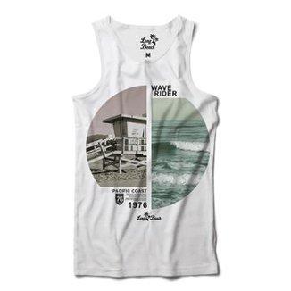 Camiseta Regata Long Beach Coleção Praias Surfista Sublimada Masculina a0712d8a699