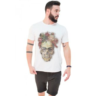 ff0957b876647 Camiseta Joss Estonada Premium Fridda Caveira