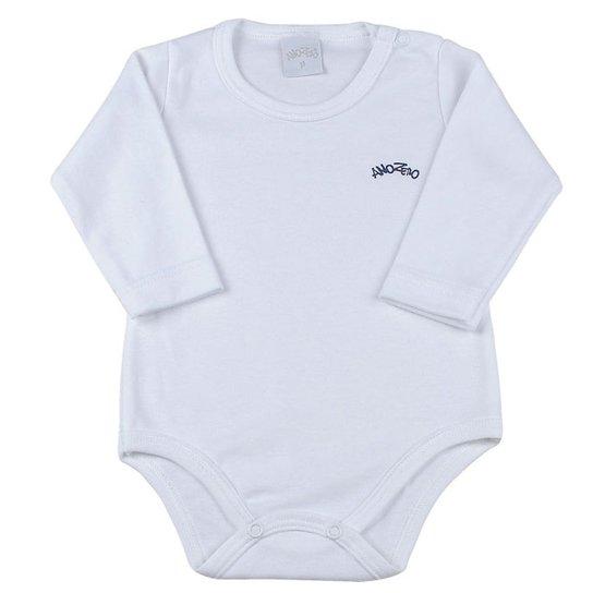 6502d865f0 Body Bebê Suedine Basico - Branco - Compre Agora
