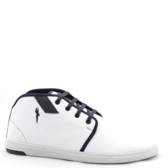 dff3e2d43bf Sapatênis Polo Blu Casual Masculino - Branco - Compre Agora