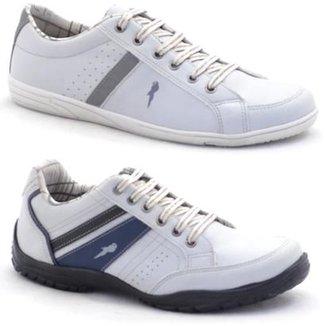 c6258210b7 Kit Sapatênis Polo Blu Casual Masculino