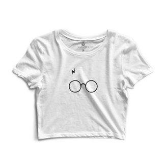 2d2b3c819c0f6 Blusa Cropped Morena Deluxe Glasses Feminino