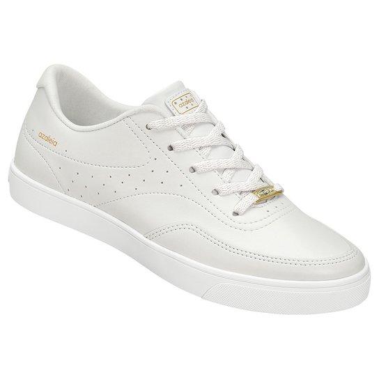 8e1cbbf15 Tênis Azaleia Básico Perfuros Feminino - Branco - Compre Agora