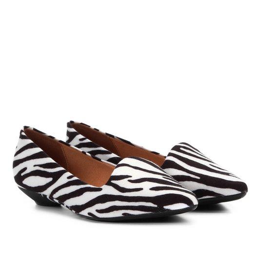 7e37931f7e Sapatilha Vizzano Slipper Zebra Feminina - Branco