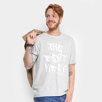 Camiseta com Linho Triton Listrada Masculina a6481a51d8ef1
