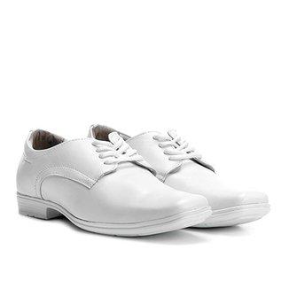 aed05026f Sapato Social Couro Pegada Bico Quadrado