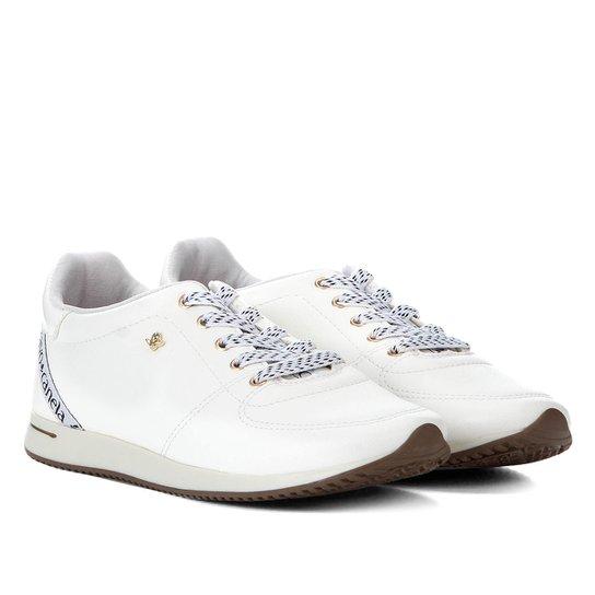 25e9de3ca5 Tênis Couro Cravo   Canela Jogging Feminino - Branco - Compre Agora ...