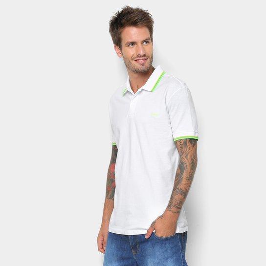 64e9a60392 Camisa Polo Colcci Detalhe Neon Masculina - Branco - Compre Agora ...