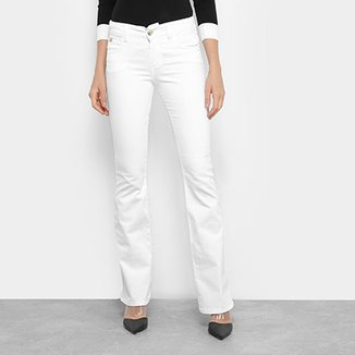 7c51c27ec Calça Jeans Flare Colcci Sarja Cintura Média Feminina