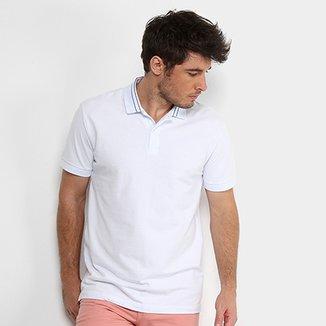 d5853309fd Camisa Polo Forum Piquet Masculina