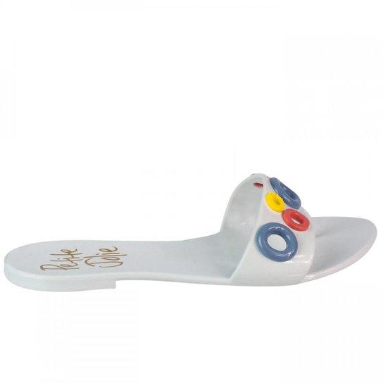 0a1024fa7 Chinelo Feminino Petite Jolie PVC Pj1381 - Branco - Compre Agora ...