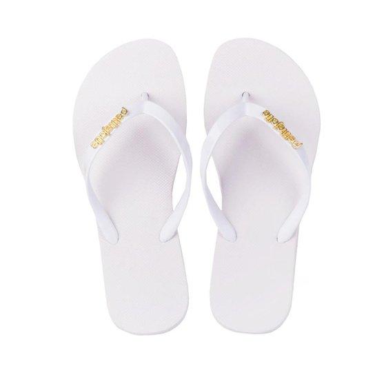 6907a463e Chinelo Petite Jolie Hotpj Feminino - Branco - Compre Agora