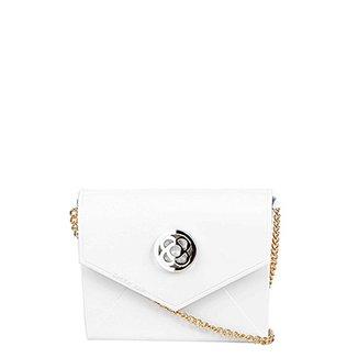 250ab78e2 Bolsa Petite Jolie Mini Bag Verniz Alça Corrente Feminina