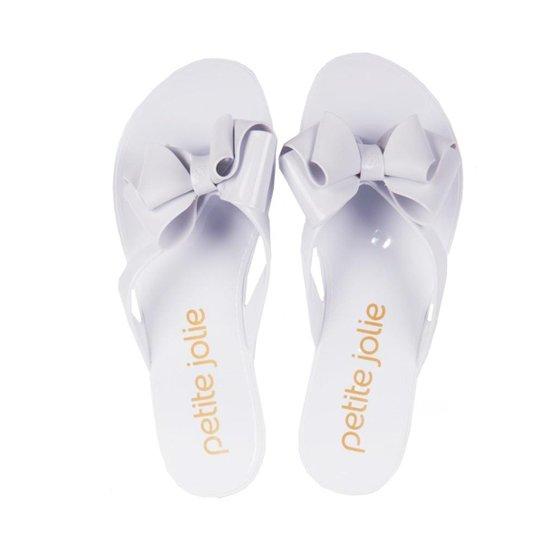 311111450 Chinelo Petite Jolie Feminino - Branco - Compre Agora