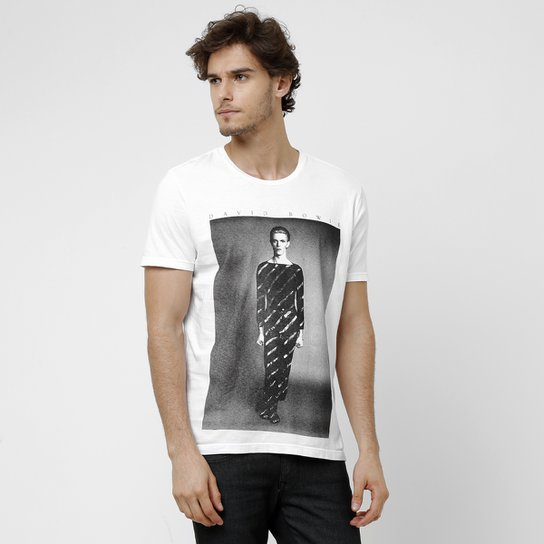 915d938687a62 Camiseta Ellus David Bowie - Compre Agora