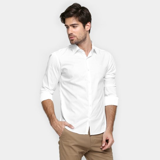 Camisa Ellus Slim Fit Básica - Compre Agora  622c0a6601f