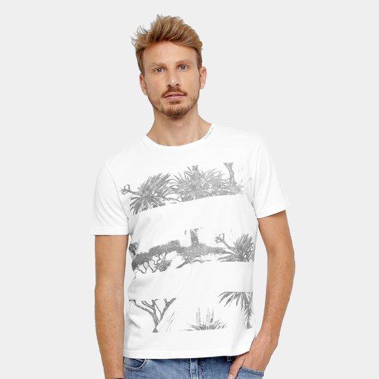 Camiseta Ellus Listras Floral Masculina - Compre Agora  600f20d9d73