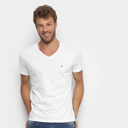 Camiseta Básica Ellus Decote V Masculina - Compre Agora  899c738f309
