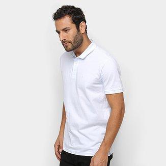 463704608f Camisa Polo Ellus Piquet Mesclada Clássica Masculina