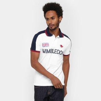 Camisa Polo RG 518 Piquet Wimbledon Bordado f46b73f093d55