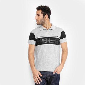 Camisa Polo RG 518 Estampa Emborrachada Faixas Masculina b1b4edb2c7c