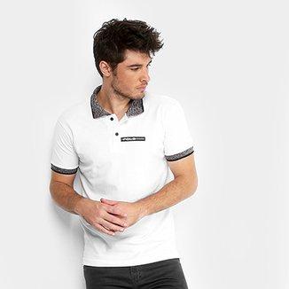 Camisa Polo RG 518 Piquet Logo Emborrachado Jacquard Masculina 2f35463e0f