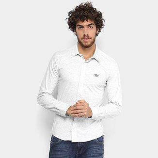 32c72afbe77d8 Camisa Manga Longa RG 518 Slim Masculina