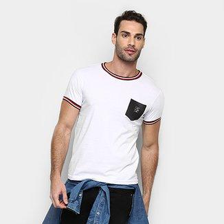 ada9d003e8682 Camiseta RG 518 Gola Listrada Masculina