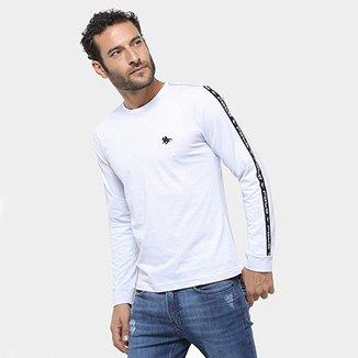 8e4d95db31 Camiseta Manga Longa Polo RG 518 Maquinetada Masculina