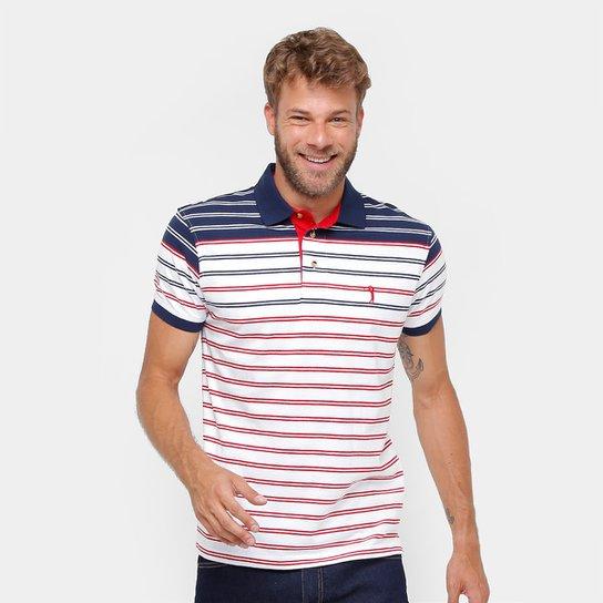 Camisa Polo Aleatory Malha Listrada Masculina - Compre Agora  c0f1d09c1d15e