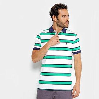 Camisa Polo Aleatory Masculina e751e6e87c4f3