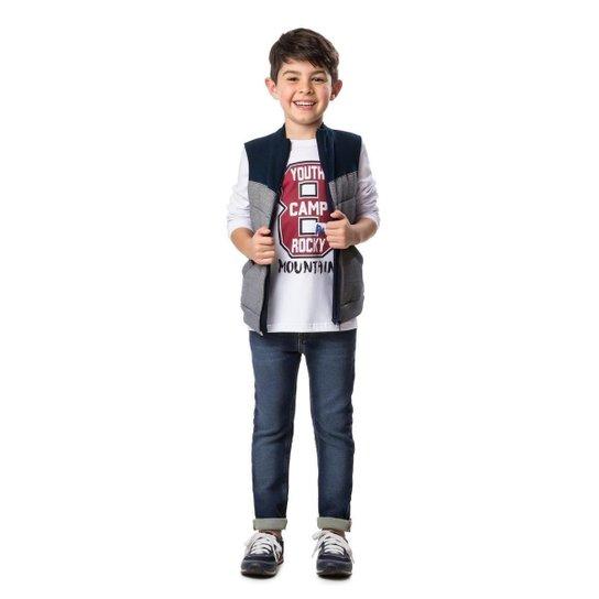 Camiseta Manga Longa Infantil Malwee Estampada Masculino - Compre ... eedcdc8db3