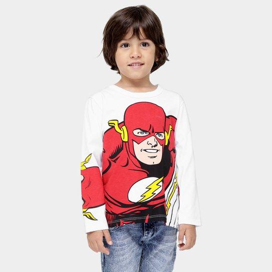 e94267584 Camiseta Kamylus Super-Heróis Manga Longa Infantil - Compre Agora ...