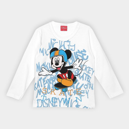 f95d384b9 Blusa Infantil Kamylus Manga Longa Mickey Masculina - Compre Agora ...