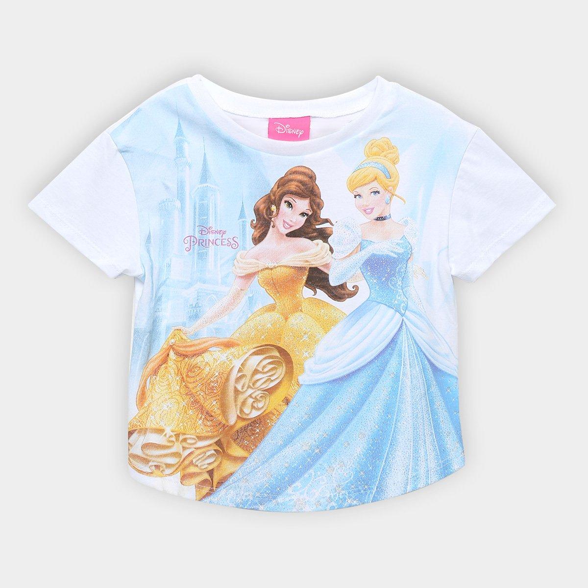 Blusa Infantil Kamylus Princesas Feminina