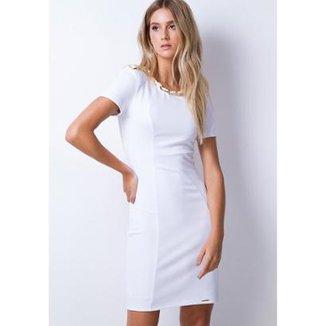 1d06bd9a01 Vestidos Lança Perfume Branco Tamanho P