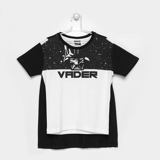 3c0931c9c4cd7 Camiseta Infantil Fakini Star Wars com Capa Masculina - Compre Agora ...