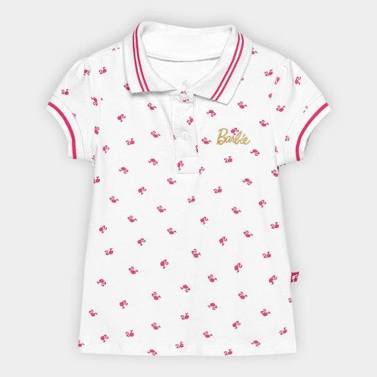 Camisa Polo Infantil Fakini Barbie Feminina - Compre Agora  bf21f20e40073