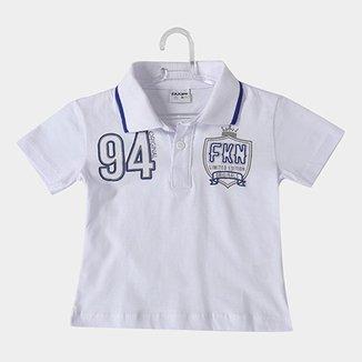 7b8cee09f Camisa Polo Infantil Fakini FKN