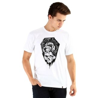 98443b6f9fe Camiseta Ouroboros manga curta black Lion