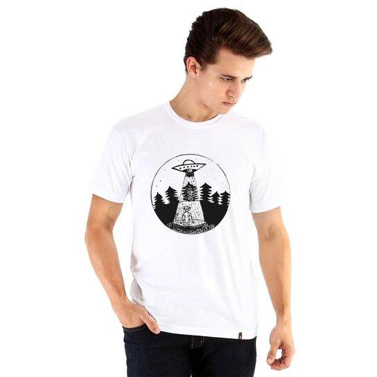 2e82d93905 Camiseta Ouroboros Manga Curta E.T Masculina - Branco - Compre Agora ...