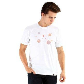 Camiseta Ouroboros Manga Curta Outer Space Masculina ae21594d4e4d4